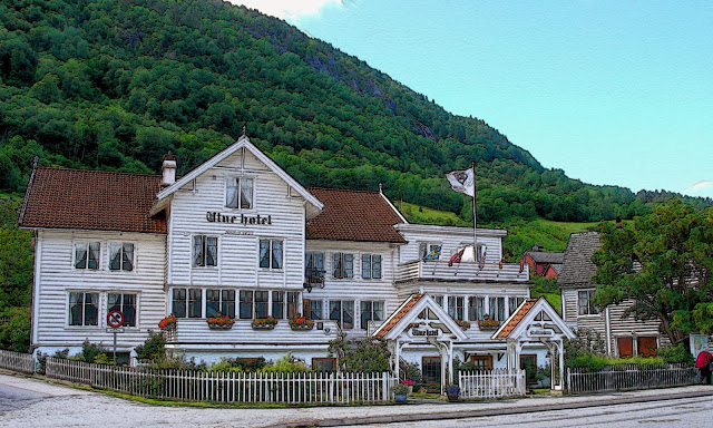 The charming Utne Hotel in Utne, Norway, has many secrets of her own.