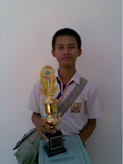 My Very First Throphy - Winning a Story Telling Competition in Bangkalan