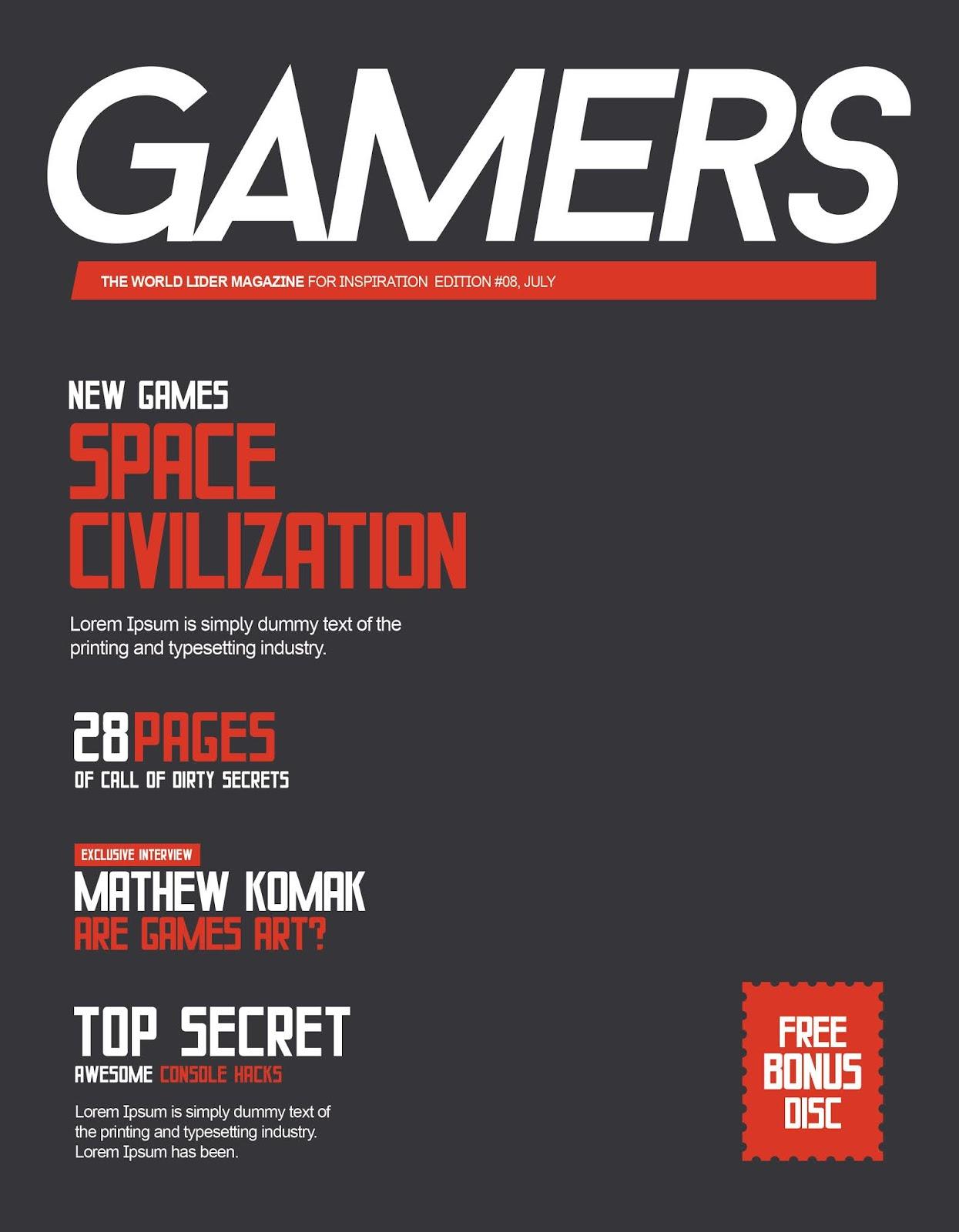 Oyun Dergi Kapağı
