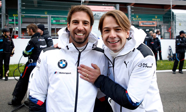 BMW is preparing for a 24-hour race at Le Mans with a distinctive driver lineup