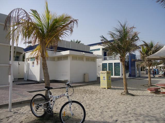 Washrooms at Jumeirah Open Beach