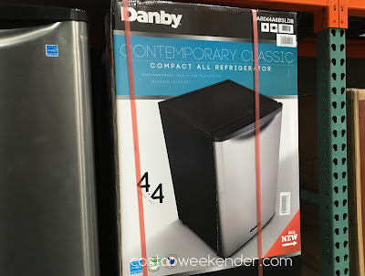 Get extra refrigerator space with the Danby DAR044A6BSLDB