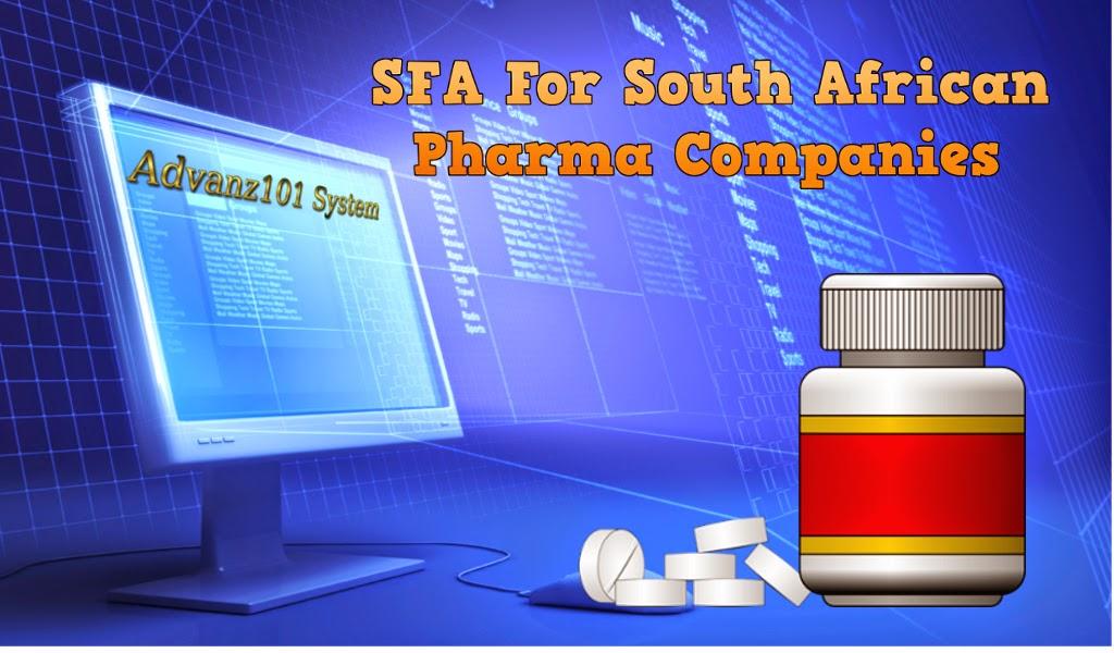 SFA For South African Pharma Companies SFA For South African Pharma Companies
