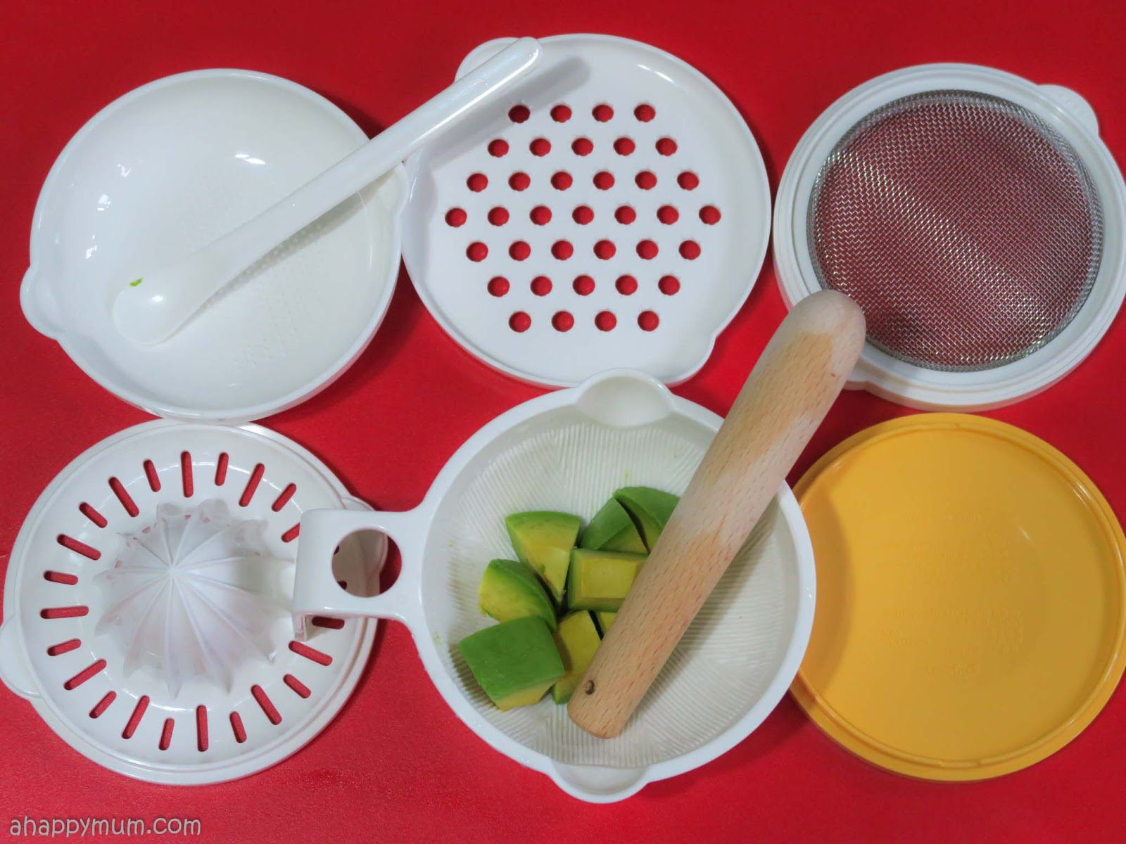 A Happy Mum Singapore Parenting Blog Pigeon Feeding Spoon Set Grind And Store All With Just One Of Tools How Convenient Right It Also Comes So You Can Feed After Preparation
