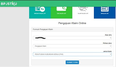 cara mencairkan bpjs online