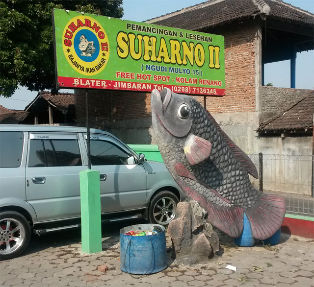 Pemancingan Bandungan Yang Asyik Untuk Mancing Dan Makan
