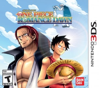 One Piece: Romance Dawn, 3DS, Español, Mega, Mediafire