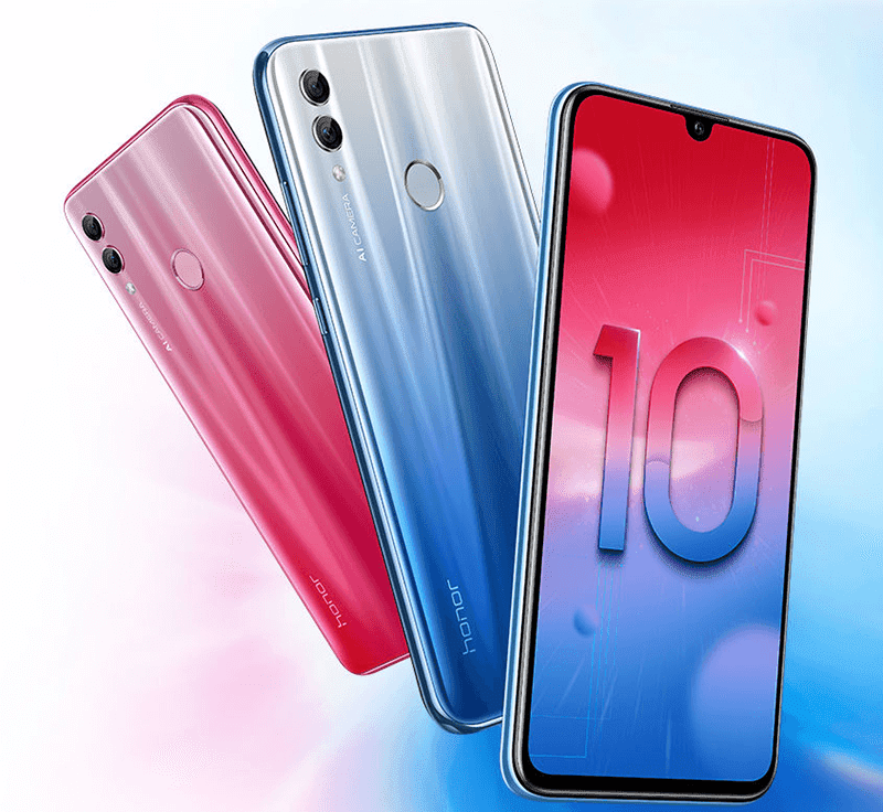 Honor 10 Lite with 6.21-inch screen, tiny notch, and GPU Turbo 2.0 now official