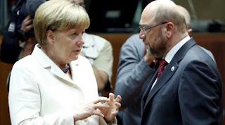 Ανησυχεί η Μέρκελ με το προβάδισμα των Σοσιαλδημοκρατών
