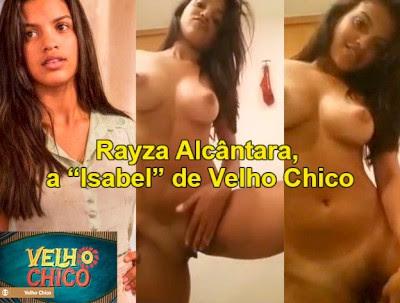 Rayza Alcântara de Velho Chico Vazou no Whatsapp