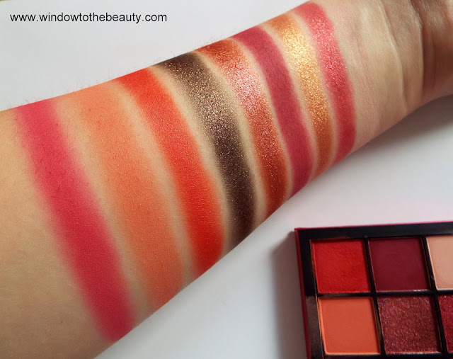 new Huda Beauty Obsessions swatches