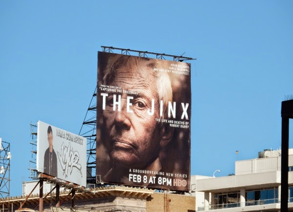 The Jinx HBO series billboard