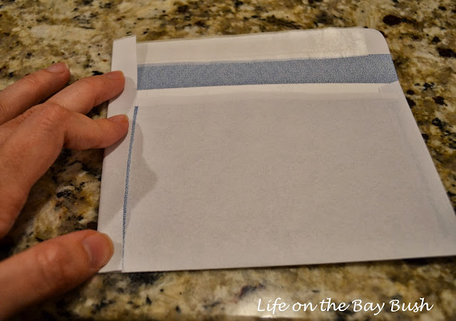 How to make 4x6 party invitation envelopes