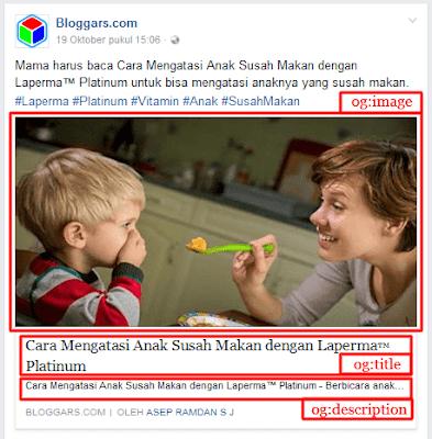 Penjelasan Meta Tag Facebook open graph