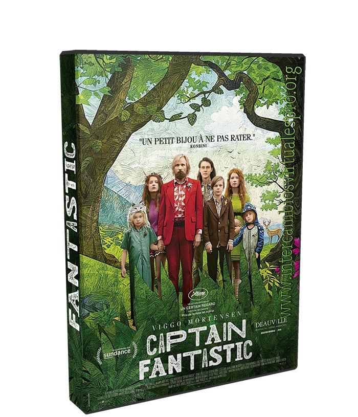 Capitan Fantastico poster box cover