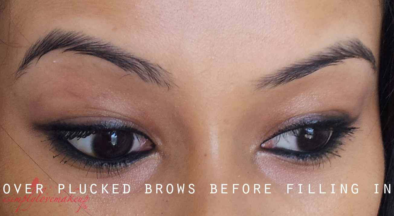 Tips And Tricks: Dealing With Over-Plucked Eyebrows