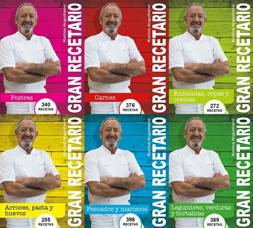 Colección gran recetario – Karlos Arguiñano