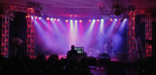DJ System With LED Wall & 4 Sharp Lights In Manila Resort