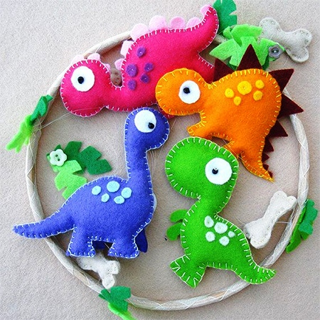 easy and simple felt craft for kids