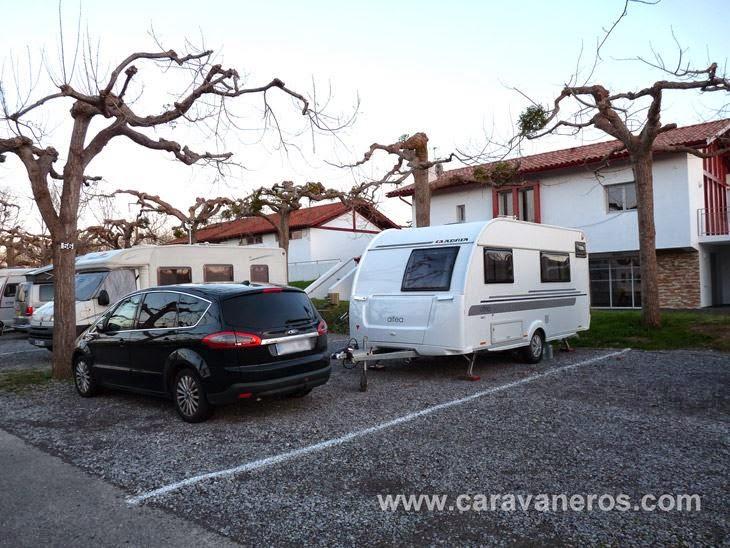 Foto de la Parcela de invierno. Camping Larrouleta | caravaneros.com