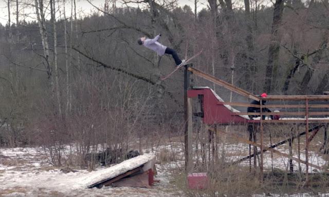 Vidéo Real Skifi sans neige à Stockholm