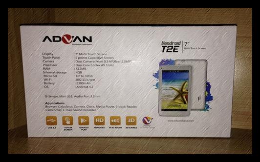 Firmware Advan T2E RK3026 ifive F320 86V 4.4.2