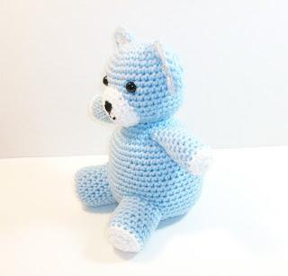 blue cuddly bear