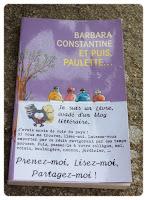 blog littéraire bibliza bookcrossing livre évadé partage et puis paulette constantine