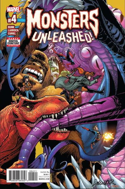 MONSTERS UNLEASHED 4