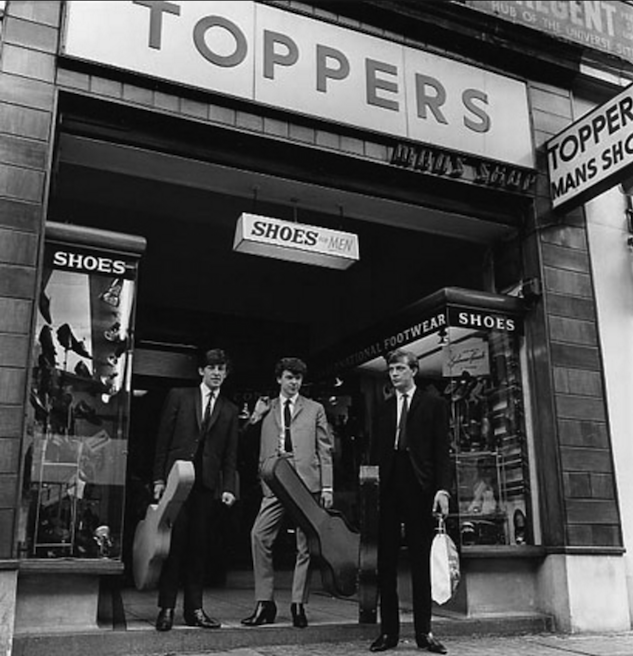 Toppers Shoes 57 Shaftesbury Avenue 1960s