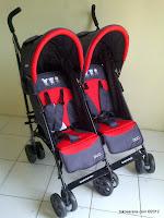 1 Kereta Bayi BabyDoes CH152 Duo - 2 Kursi