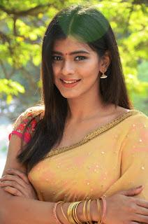 Hebah Patel super cute in Half Saree Backless Blouse Choli at Nenu Naa BoyFriends movie event
