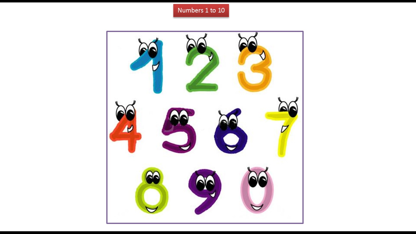 java ee kids numbers 1 to 10