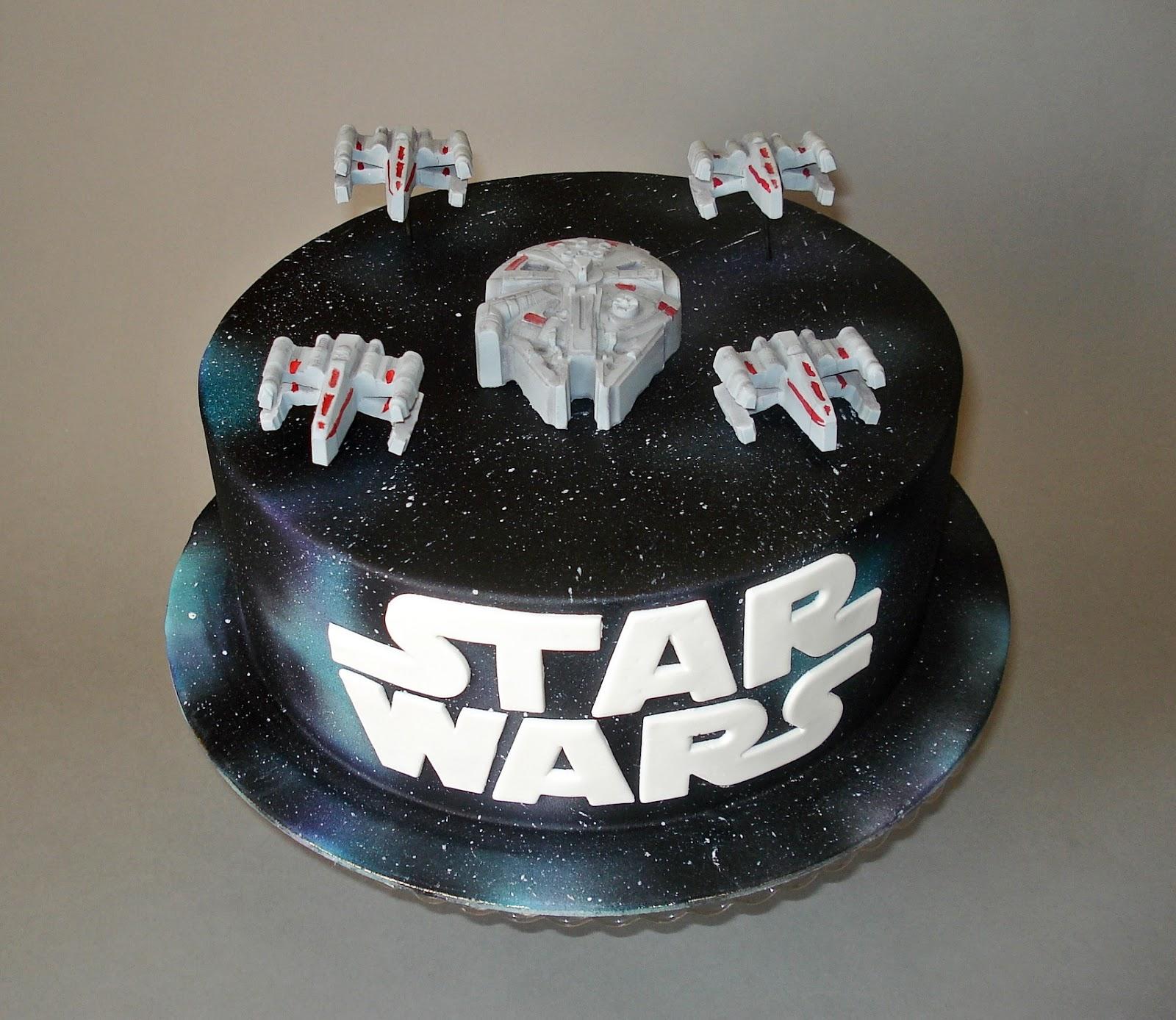 3d Star Logo: Grejt Kejk -Studio Tort W Niezwyk Ych Yrard W: Star Wars