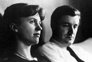 Ted Hughes and Sylvia Plath