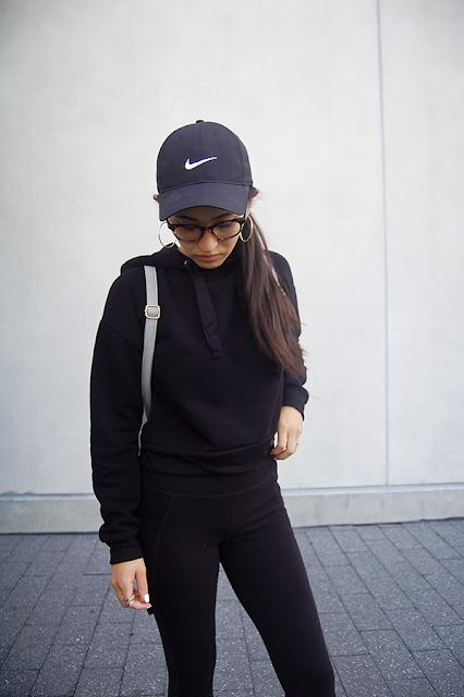 Black Nike Baseball Hat
