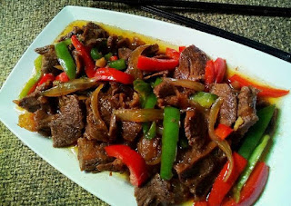 Resep Makanan Daging Sapi Lada Hitam