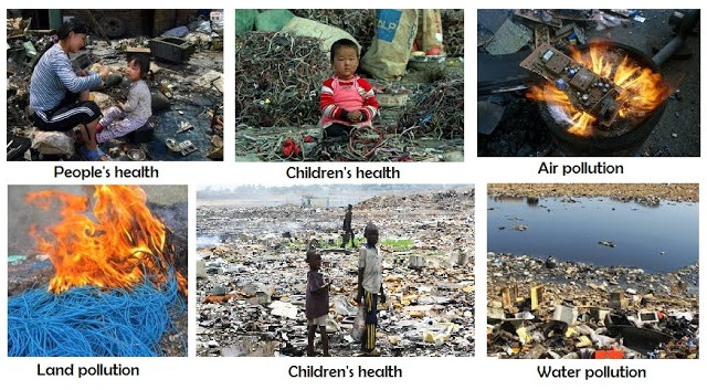 different types of land pollution