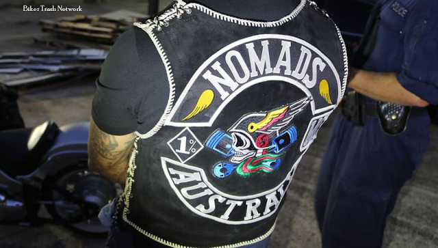 Biker Trash Network • Outlaw Biker News : Nomads MC member