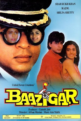 Baazigar 1993 Hindi WEB HD 500mb