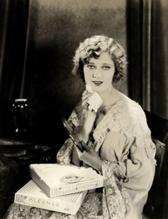 Kleenex, advertising 1926