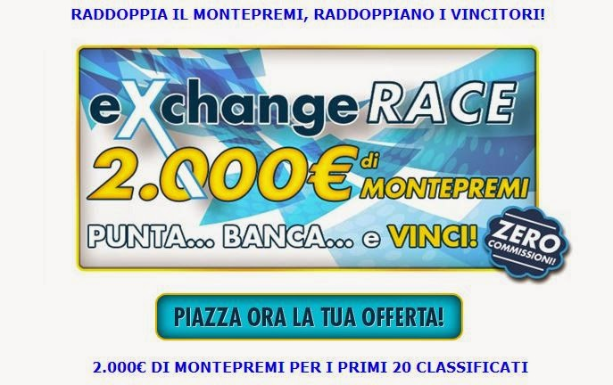 Exchange Race di Betflag