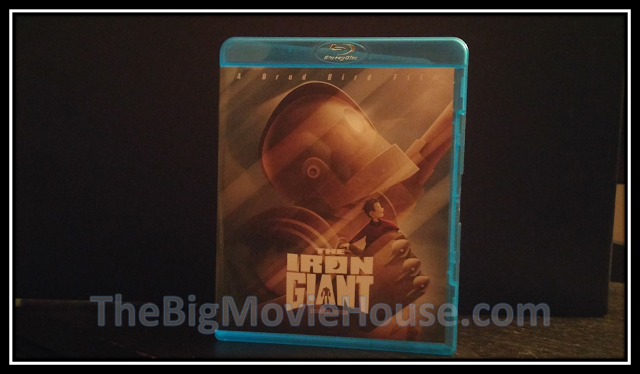 Iron Giant blu-ray from Warner Bros