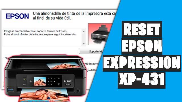 Cómo resetear impresora EPSON Expression XP-431