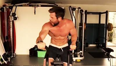 Chris Hemsworth estrella Fitness