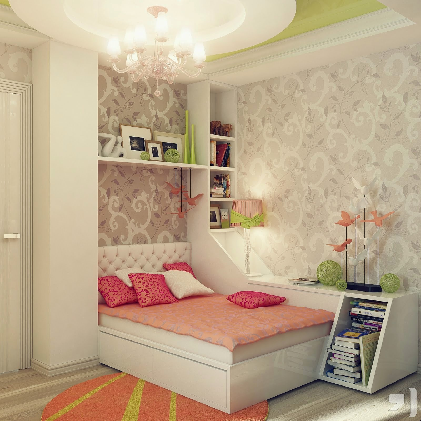 Ways To Make Your Bedroom Look Girly