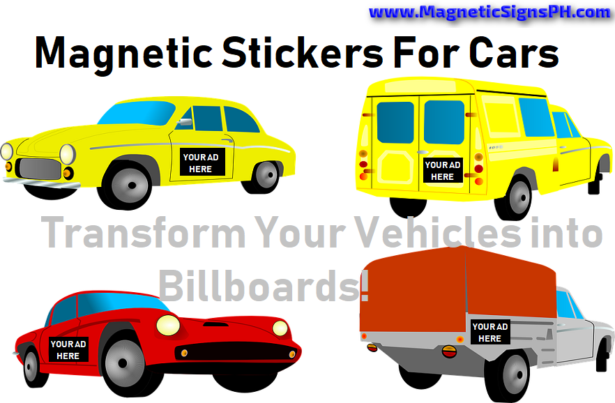 Magnetic Stickers For Cars - Transform Your Vehicles into Billboards