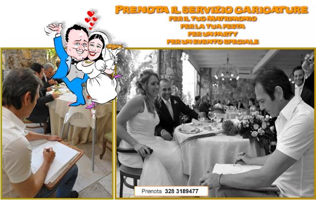 Caricaturista al Matrimonio Speciale animazione
