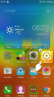 Upgrade the System Firmware on Android Lenovo A7000 Turbo