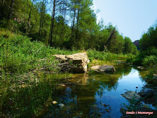 Ludiente, río Villahermosa, Rambla santa Ana, pozo negro